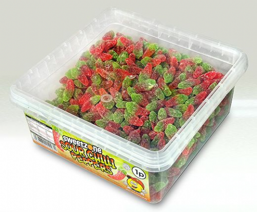 SZ26 SWEETZONE SOUR CHILLI PEPPERS 1p x 600